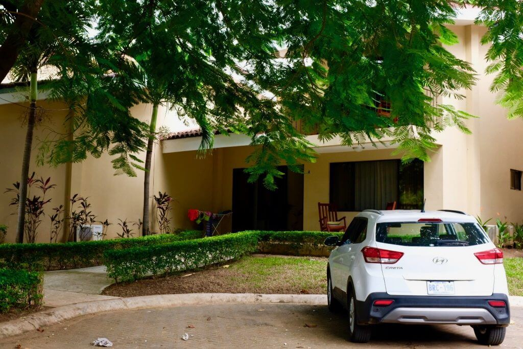 Our home and car in Vista Ocota